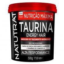 Skafe Natutrat Taurina Energy Hair - Máscara de Tratamento Intensivo - 500g -