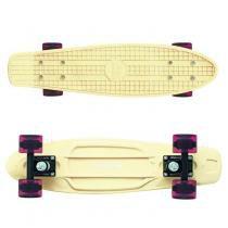 Skate Cruiser Abec 7 Mormaii Creme - Bel fix