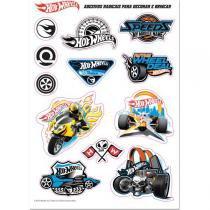 Skate Hot Wheels C/Acessorios Segur. - Fun