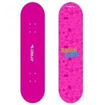 Skate Infantil Feminino Rosa Atrio ES146 -