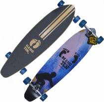 Skate Long Board 96 cm rodas 70x46mm 78AA 7 camadas Maple - Import Way