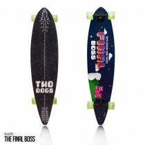 f3654792c4a45 Skate Long Board Twodogs Flying D3 Abec 11 Two Dogs -