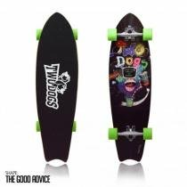 827a7a201845e Skate Long Board Twodogs Speed Rider D3 Abec11 Two Dogs -