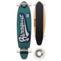 Skate Longboard 37 Polegadas Bob Burnquist ES001B Verde - Multilaser - Multilaser