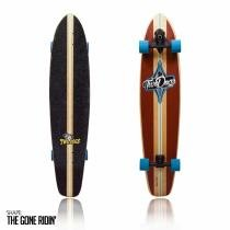 Skate longboard two dogs super carve d2 - Two dogs
