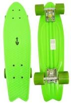 Skate Mini Longboard Retro Abec 7 Truck de Ferro Verde (SKT-12) - Braslu