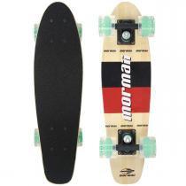 Skate Mormaii Mini Cruiser Longboard Abec 7 Bambu 5002 - Belfix