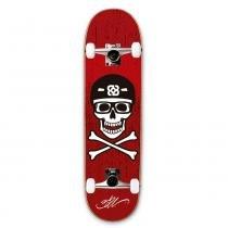 Skate Street Bob Burnquist ES074 Caveira Vermelho - Multilaser - Multilaser