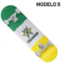 Skateboard Semi-Profissional Pró Mega Rampa BelSports cod 4030 - MEGARAMPA - 5 - Belfix