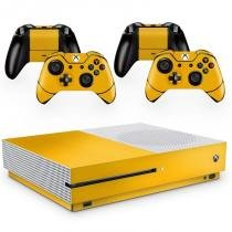 Skin Adesivo Protetor XBox One S (Amarelo) - Skin t18