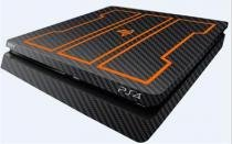 Skin para Playstation 4 Slim - Black Ops 3 (Carbono Preto) - Nc games