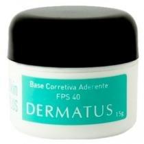 Skin Plus Base Corretiva Aderente FPS 40 Dermatus - Base Facial Corretiva - Cor D - Dermatus
