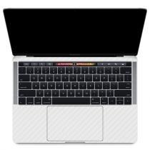 Skin Premium - Adesivo Fibra de Carbono MacBook Pro 15 Com Touch Bar - Branco - Skin premium