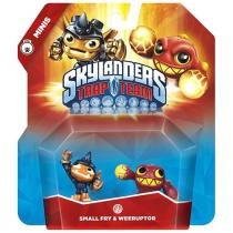 Skylanders Trap Team Mini 2-Pack - Small Fry  Weeruptor Activision