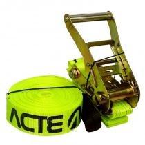 Slackline Acte de 15m T122 com Catraca de 50m e Suporta até 3000kg Verde -