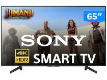 "Smart 4K LED 65"" Sony KD-65X705G Wi-Fi - HDR Conversor Digital 3 HDMI 3 USB"