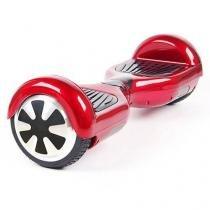 Smart Balance Hoverboard Skate Elétrico Vermelho - Bateria Samsung - Mf imports