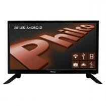 "Smart TV 28"" HD Philco PH28N91DSGWA com Android -"