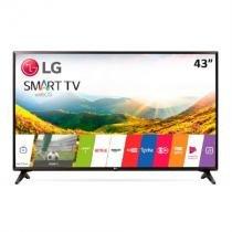 """Smart TV 43"""" Full HD LG, Preta, 43LJ551C, Wi-Fi, USB -"""