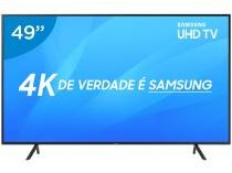 "Smart TV 4K LED 49"" Samsung NU7100 Wi-Fi HDR  - Conversor Digital 3 HDMI 2 USB"