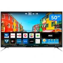 "Smart TV 4K LED 50"" AOC LE50U7970S  - Conversor Digital 4 HDMI 2 USB"
