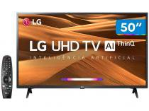 "Smart TV 4K LED 50"" LG 50UM7360PSA Wi-Fi - Inteligência Artificial Conversor Digital 3 HDMI"
