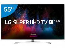 "Smart TV 4K LED 55"" LG 55SK8500PSA Wi-Fi HDR  - Inteligência Artificial Conversor Digital 4 HDMI"