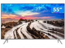 "Smart TV 4K LED 55"" Samsung 55MU7000 Wi-Fi - Conversor Digital 4 HDMI 3 USB"