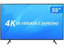 "Smart TV 4K LED 55"" Samsung NU7100 Wi-Fi HDR - Conversor Digital 3 HDMI 2 USB"