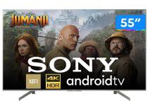 "Smart TV 4K LED 55"" Sony XBR-55X855G Android Wi-Fi - HDR Inteligência Artificial Conversor Digital"