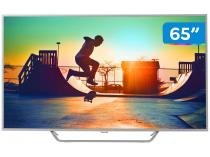 "Smart TV 4K LED 65"" 65PUG6412/78 Wi-Fi - HDR 4 HDMI 2 USB"