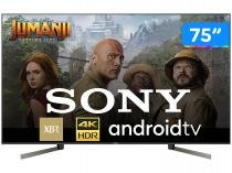 "Smart TV 4K LED 75"" Sony XBR-75X955G Android Wi-Fi - HDR Inteligência Artificial Conversor Digital"