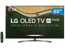 "Smart TV 4K OLED 65"" LG OLED65B9PSB - Wi-Fi HDR Inteligência Artificial Conversor Digita"