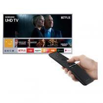 "Smart TV 4K Samsung LED 55"" com Smart Tizen e Wi-Fi - UN55MU6400GXZD -"