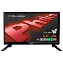 "Smart TV Android LED 28"" Philco PH28N91DSGWA HD, WiFi, 2 USB, 2 HDMI -"