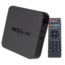 Smart tv box hd android dlna airplay c/ net, youtube, netflix, jogos - Mxq