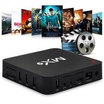 Smart TV Box MX9 Android Netflix 4k -