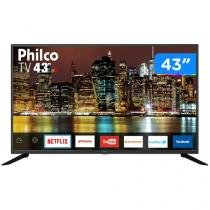 "Smart TV Full HD LED 43"" Philco PTV43G50SN - Android Wi-Fi 3 HDMI 2 USB"