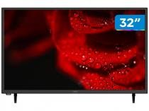 "Smart TV HD DLED 32"" Cobia CTV32HDSM - Wi-Fi Conversor Digital 2 HDMI 1 USB"