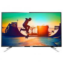 "Smart TV LCD 55"" Philips 55PUG6102/78 4K Ultra HD, Wi-Fi, 4 HDMI, 2 USB -"