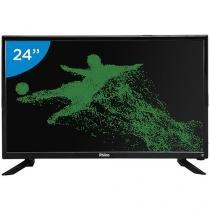 "Smart TV LED 24"" Philco Full HD PTV24N91SA - Android Conversor Digital Wi-Fi 1 HDMI 2 USB"