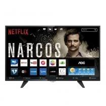 """Smart TV LED 32"""" AOC LE32S5970 HD, 3 HDMI, 2 USB -"""