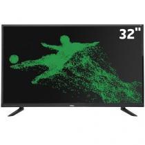 "Smart TV LED 32"" HD Philco PH32E20DSGWA Android, Wi-Fi,ApToide,Som Surround,Progressive ,HDMI,USB -"