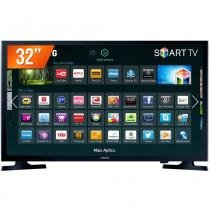 Smart TV LED 32 HD Samsung HG32NE595JGXZD 2 HDMI Wi-Fi Integrado - 02 Controles -