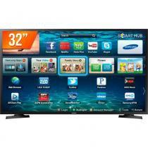 Smart TV LED 32 HD Samsung LH32 2 HDMI 1 USB Wi-Fi -