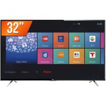 Smart TV LED 32 HD Semp TCL L32S4900S 3 HDMI 2 USB Wi-Fi Integrado Conversor Digital - Semp toshiba