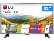 "Smart TV LED 32"" LG 32LJ600B WebOS - Conversor Digital Wi-Fi 2 HDMI 1 USB"