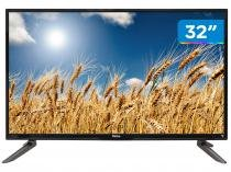 "Smart TV LED 32"" Philco PH32C10DSGWA - Conversor Digital Wi-Fi 2 HDMI 2 USB"