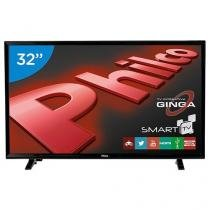"Smart TV LED 32"" Philco PH32E20DSGWA - Conversor Digital 2 HDMI 2 USB"