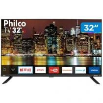 "Smart TV LED 32"" Philco PTV32G60SNBL Wi-Fi - Conversor Digital 2 HDMI 1 USB"